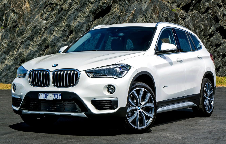 Photo wallpaper white, BMW, BMW, F48, krosver
