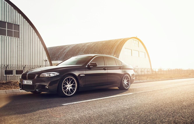 Photo wallpaper BMW, F10, 5 Series, Vossen