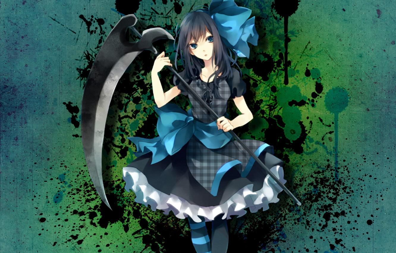 Photo wallpaper weapons, girls, on the desktop, Wallpaper anime