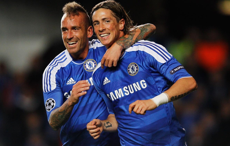 Photo wallpaper Chelsea, Fernando Torres, Chelsea, Torres, Meireles