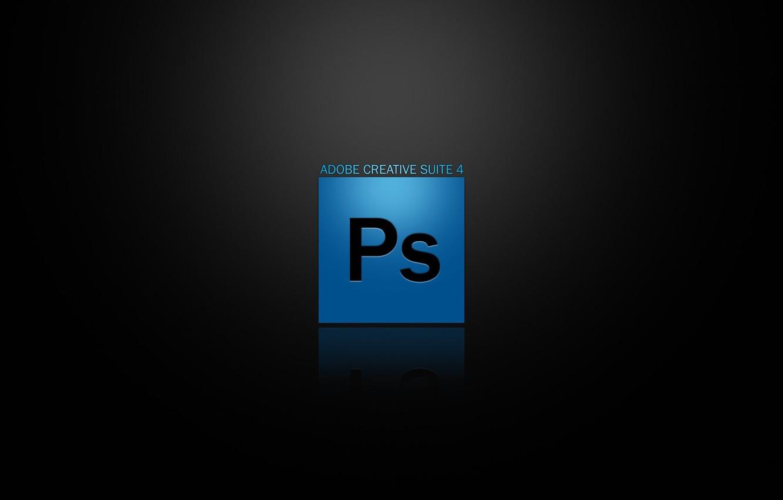 Photo wallpaper Glassy, Photoshop, CS4