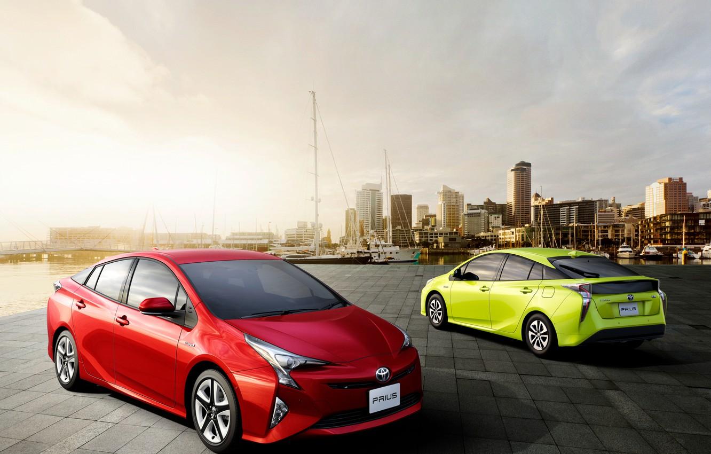 Photo wallpaper Toyota, hybrid, Toyota, Prius, Prius