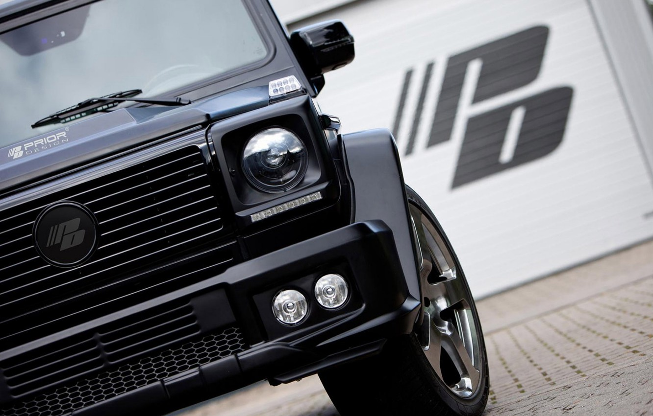 Photo wallpaper Mercedes Benz, W463, GClass, Tuned by Prior Design