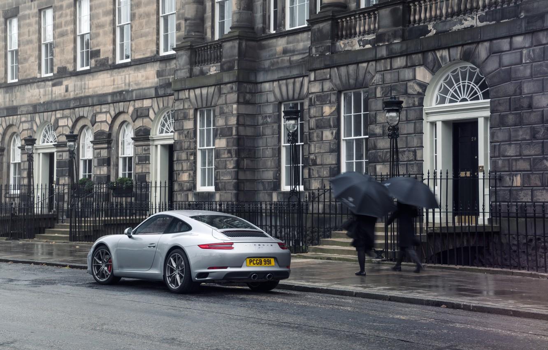 Photo wallpaper 911, Porsche, Coupe, Carrera S