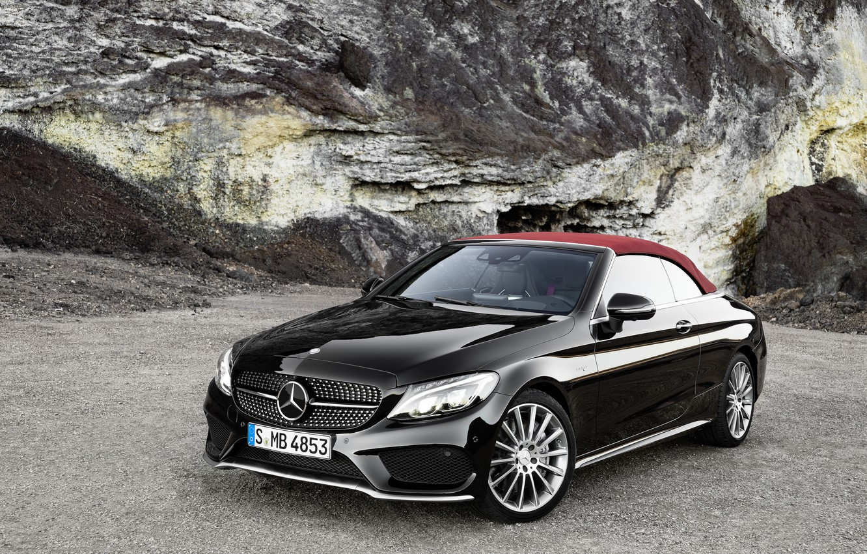 Photo wallpaper Mercedes-Benz, convertible, Mercedes, AMG, AMG, Cabriolet, C-Class, A205