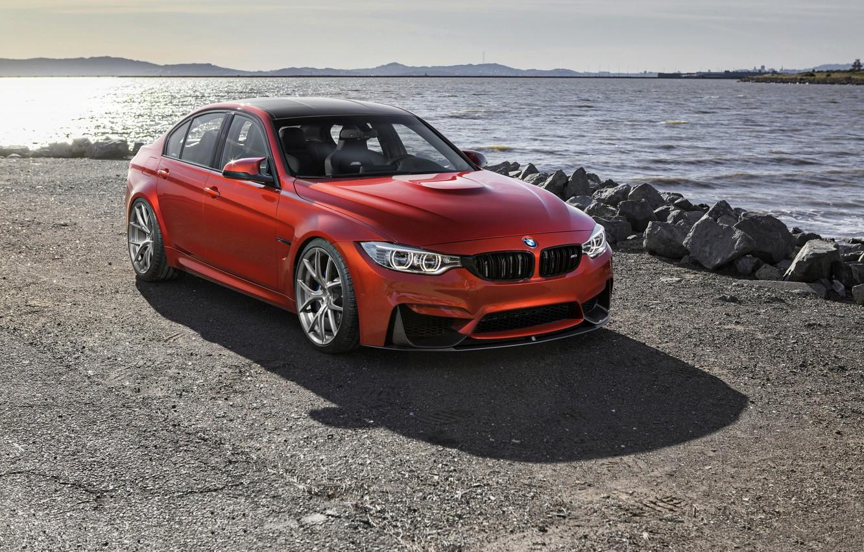 Photo wallpaper BMW, F80, VS52R 20 MORR Wheels