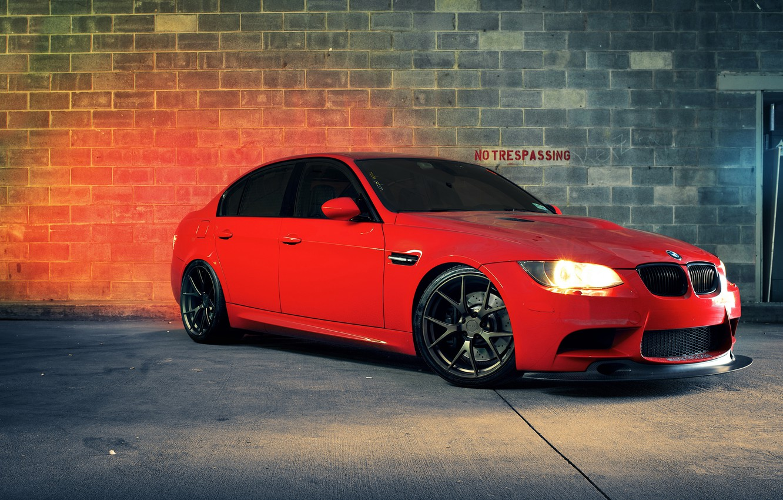 Photo wallpaper car, BMW, sedan, bmw m3, rechange, 3 series