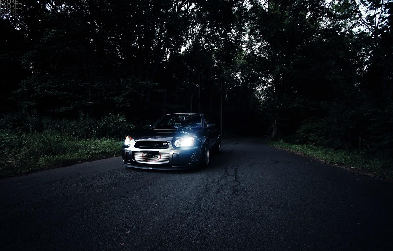 Photo wallpaper Subaru, Impreza, wrx, sti