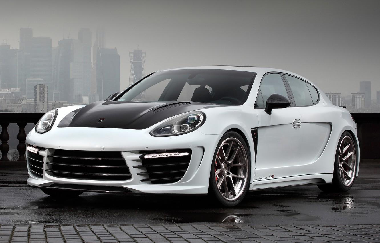 Photo wallpaper Porsche, Panamera, GTR, Stingray, Ball Wed, ( 970 )