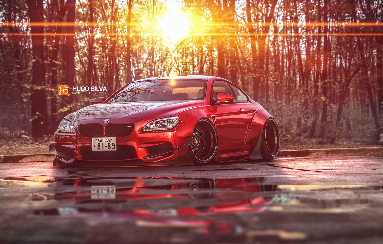 Photo wallpaper photoshop, BMW M6, Coupe F13, body kit