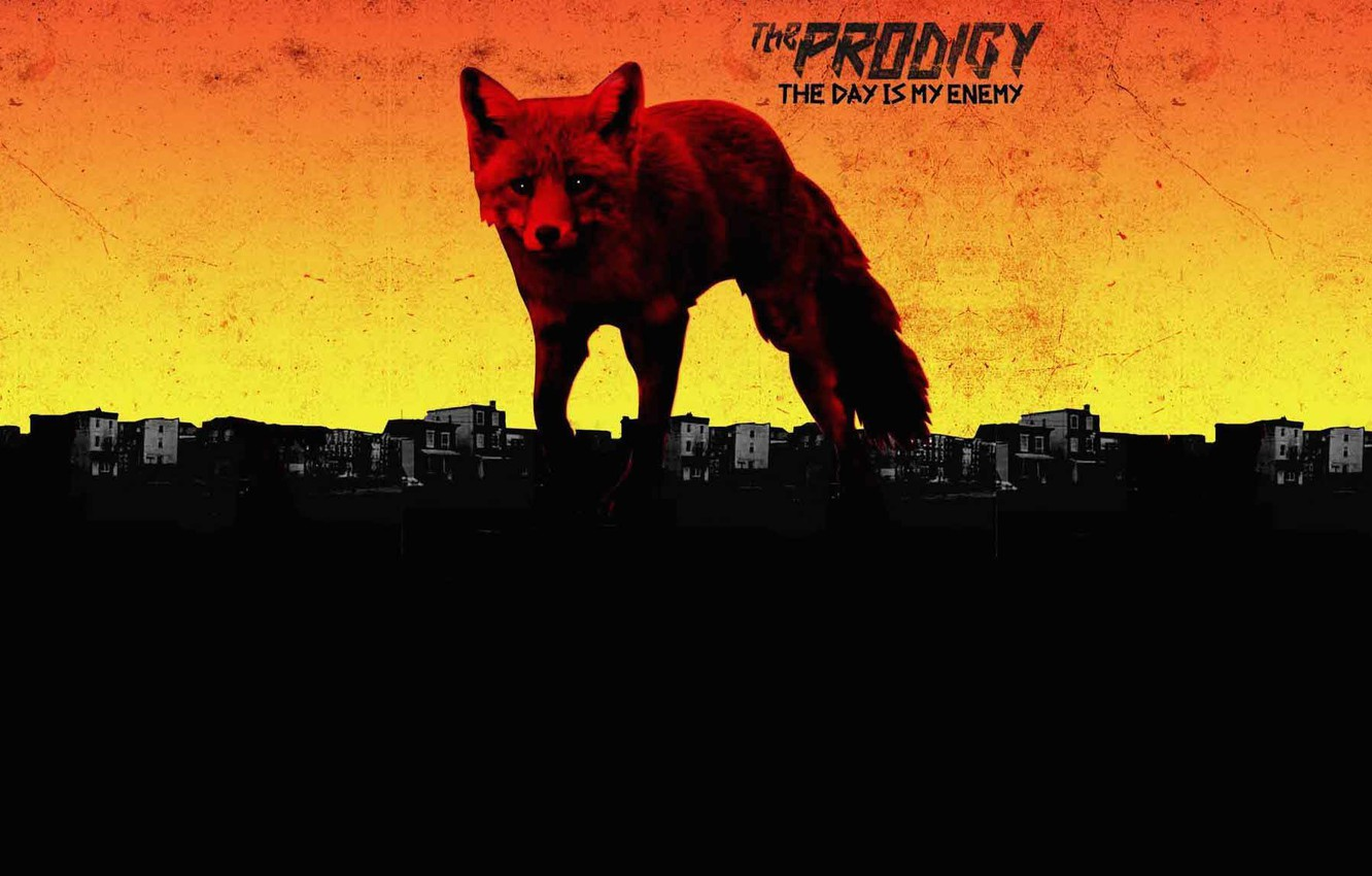 Photo wallpaper Fox, Music, Album, The Prodigy, The Day Is My Enemy