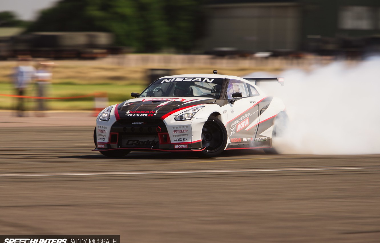 Photo wallpaper track, Nissan, speedhunters, NISMO-GT, The World's Fastest Drift Car, drift.skid