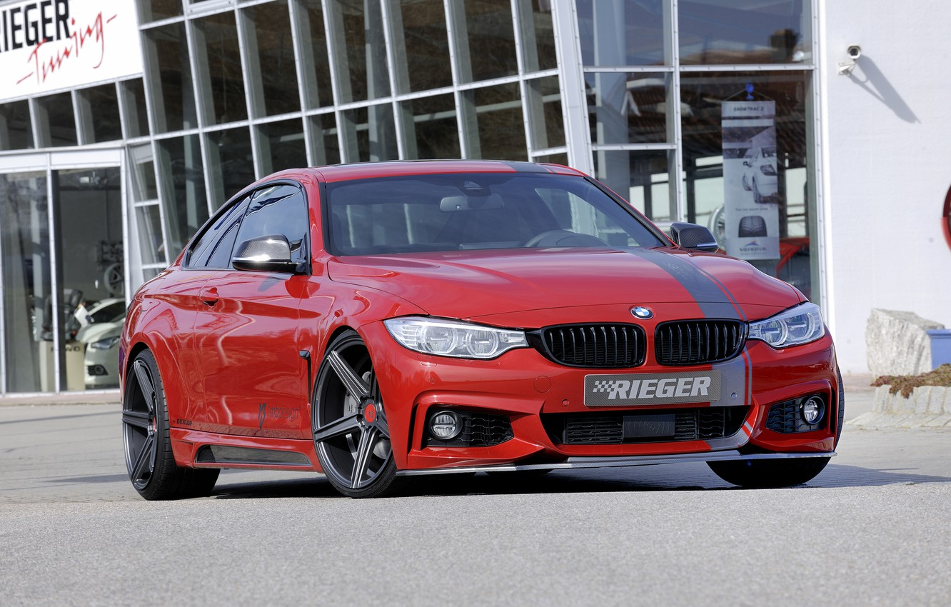 Photo wallpaper BMW, coupe, BMW, Coupe, Rieger, 2014, 4 Series, F32