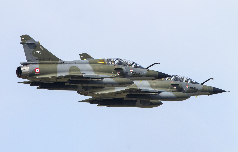 Wallpaper Fighter Multipurpose Dassault Mirage 2000