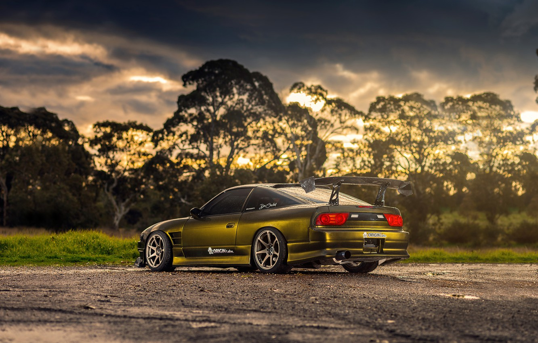 Photo wallpaper car, tuning, Nissan, tuning, rechange, Nissan 180SX
