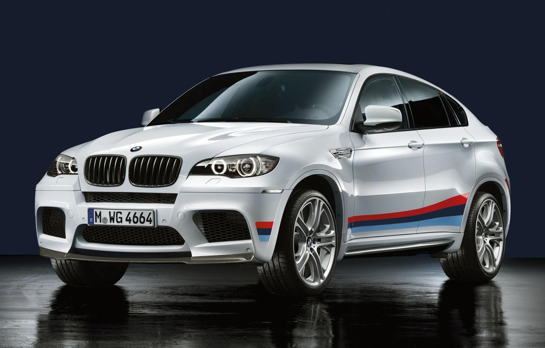 Photo wallpaper white, BMW, BMW, X6 M, E71