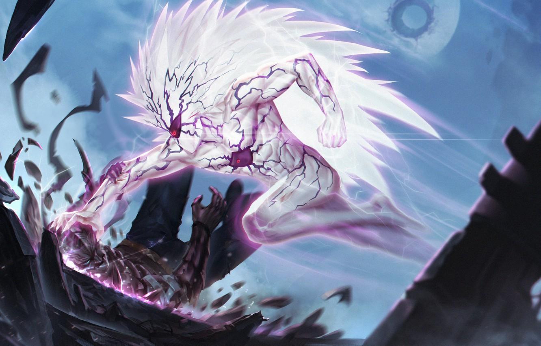 Photo wallpaper anime, art, cabalfan, One Punch Man, lord boros