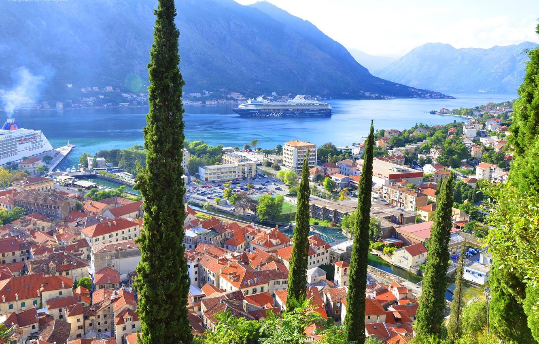 Photo wallpaper kotor, Montenegro, montenegro, to