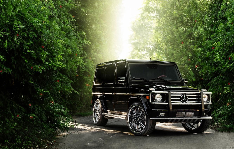 Photo wallpaper Mercedes-Benz, Auto, Tuning, Mercedes, Machine, Jeep, SUV