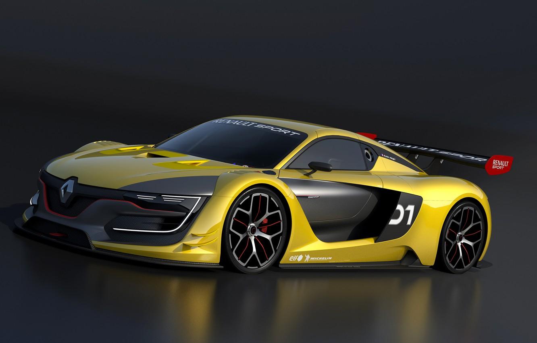 Photo wallpaper Renault, Sport, 2015
