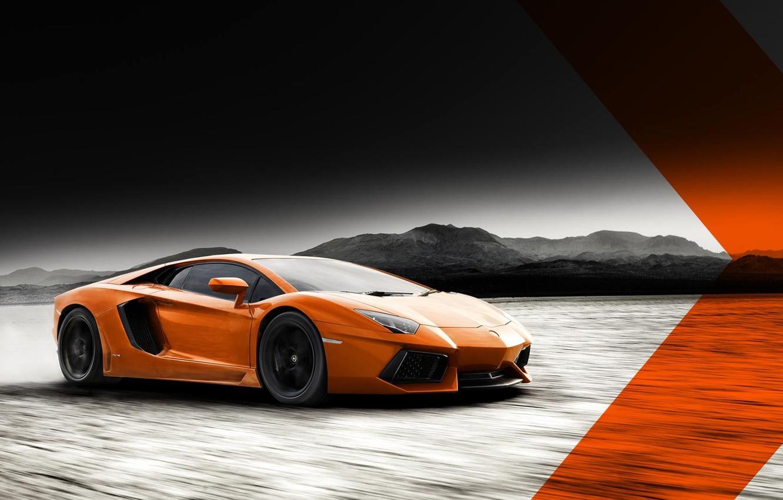 Photo wallpaper car, Lamborghini, aventador, lamborghini lp700-4 aventador
