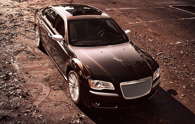 Photo wallpaper Auto, Chrysler, Chrysler, Sedan, Series, 300, The front, Luxury