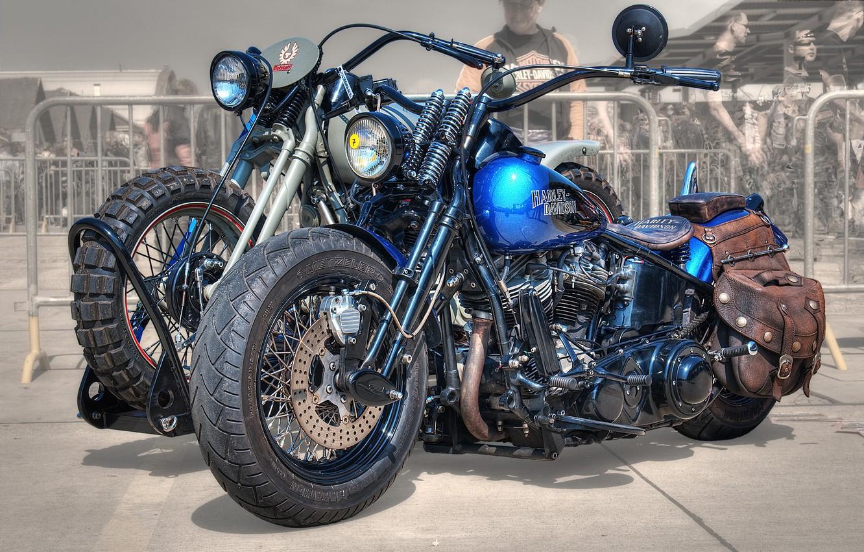Photo wallpaper design, style, background, HDR, motorcycle, form, bike, Harley-Davidson