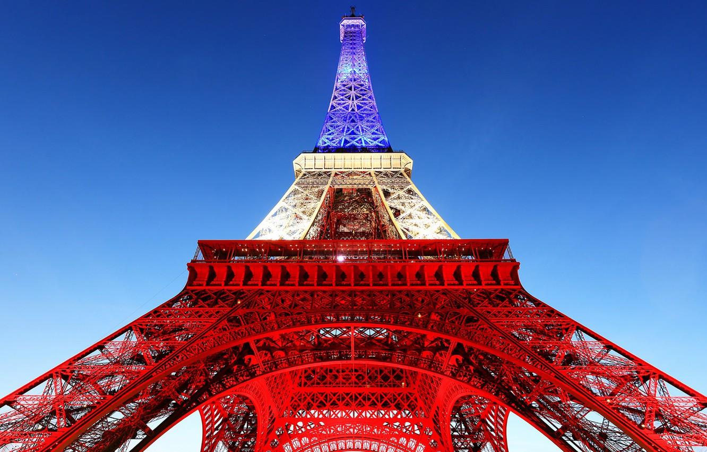 Wallpaper Paris France Eiffel Tower France Flag Images