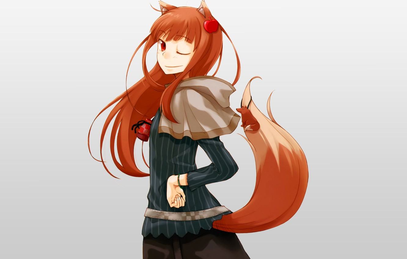 Photo wallpaper Holo, spice and wolf, Spice and wolf, The Wallpapers