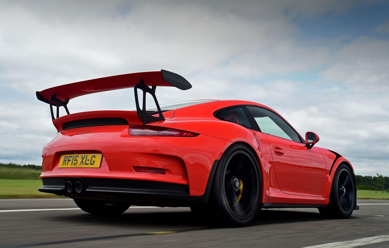 Photo wallpaper 911, Porsche, Porsche, GT3, 991, 2015