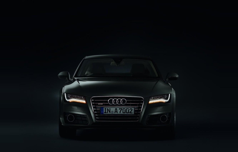Photo wallpaper darkness, Audi, lights, Audi, Sportback