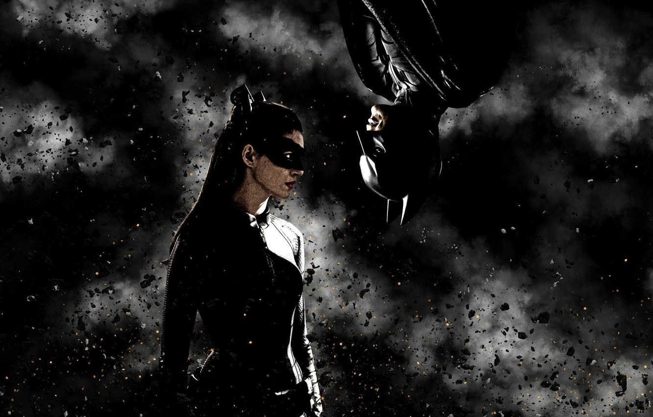 Wallpaper Batman Batman The Dark Knight Rises Anne Hathaway