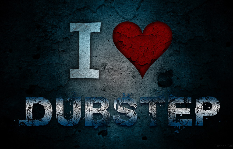 Photo wallpaper Texture, Music, I Love Dubstep