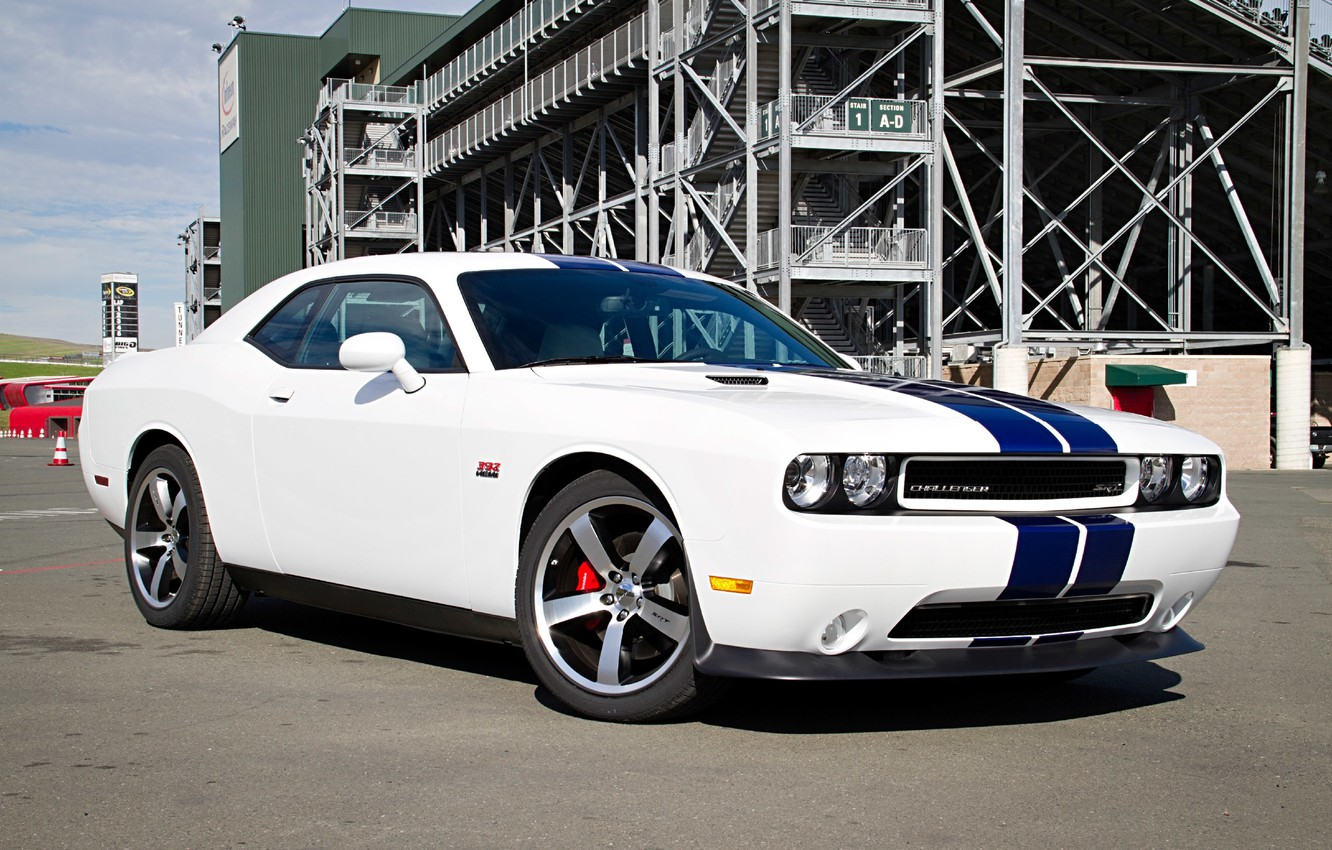 Photo wallpaper Dodge, SRT8, Challenger, Dodge, 2011, Challenger