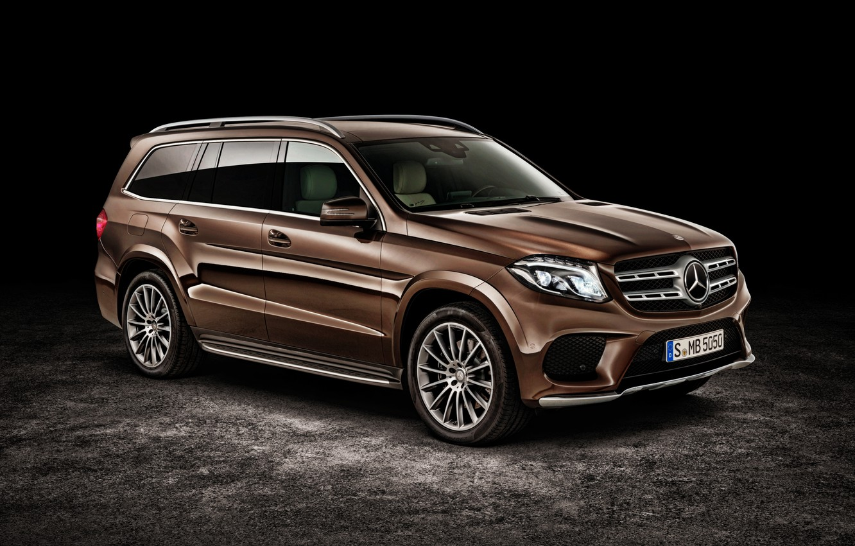 Photo wallpaper Mercedes-Benz, Mercedes, AMG, AMG, X166, GLS-Class