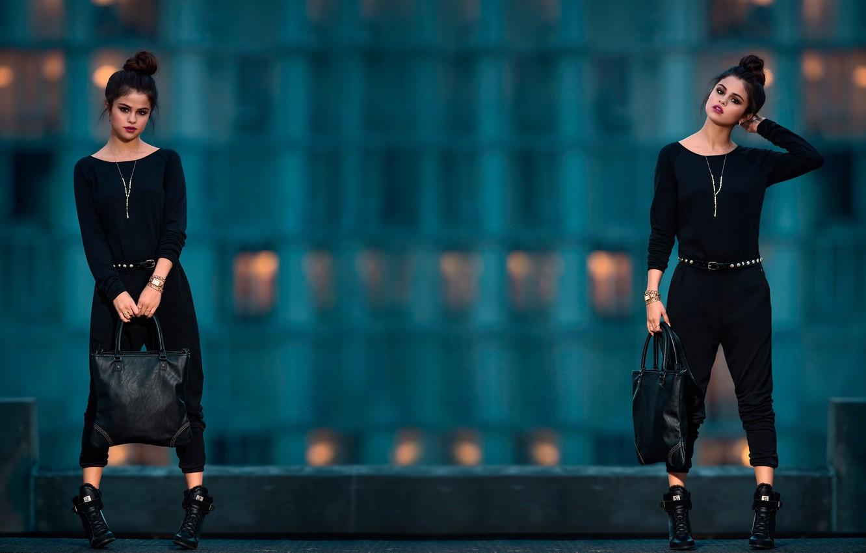 Photo wallpaper brand, Selena Gomez, Adidas Neo
