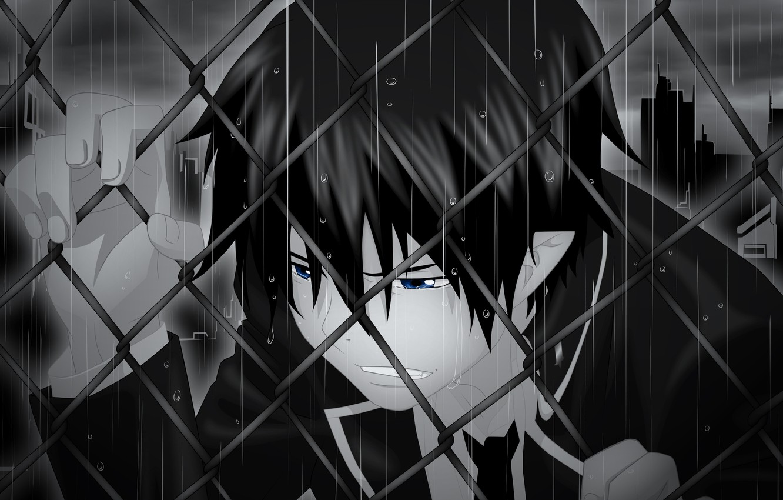 Photo wallpaper anime, guy, Ao no Exorcist, Rin Okumura, Blue exorcist