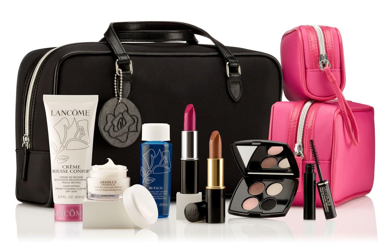 Wallpaper Makeup Mascara Shadows Cream Cosmetics Lipstick Lancome Beauticians Images For Desktop Section Raznoe Download