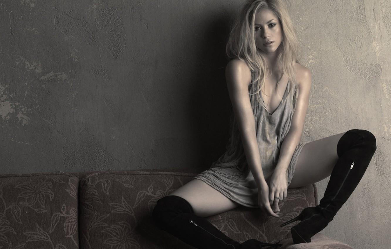 Photo wallpaper girl, music, blonde, singer, Shakira, Shakira