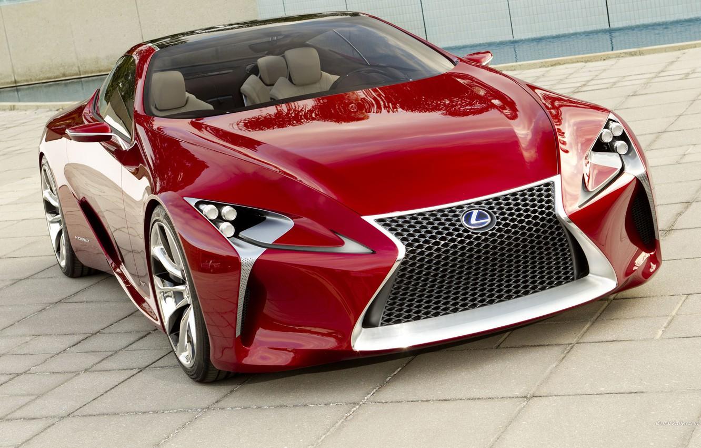 Photo wallpaper concept, the concept, lexus, Lexus, the front, lf-lc, LF-LTS