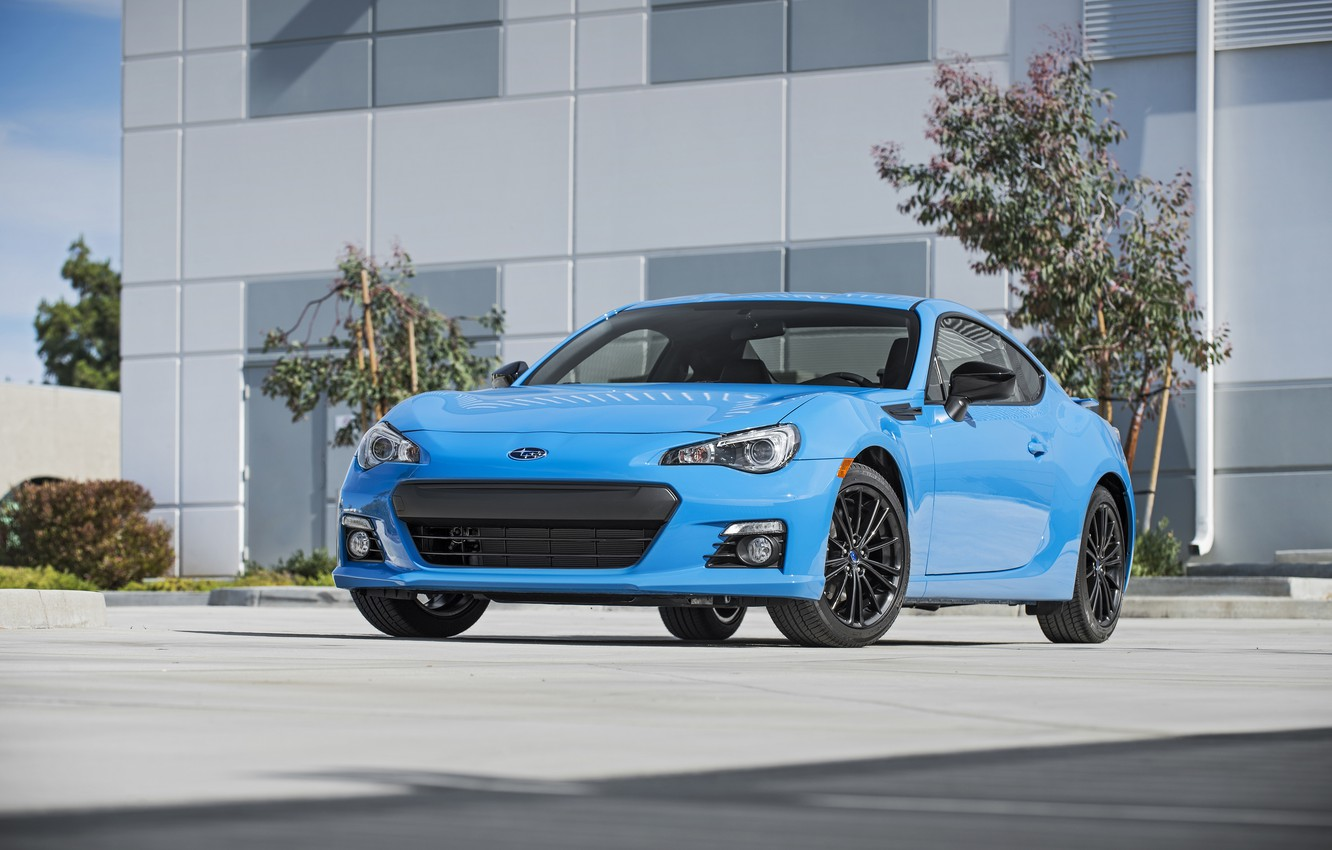 Photo wallpaper Subaru, Subaru, BRZ, HyperBlue