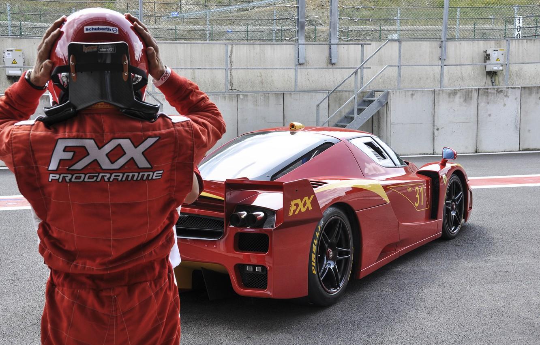 Wallpaper Red Track Helmet Ferrari Red Ferrari Racer Fxx Track Pearls Racer Images For Desktop Section Ferrari Download