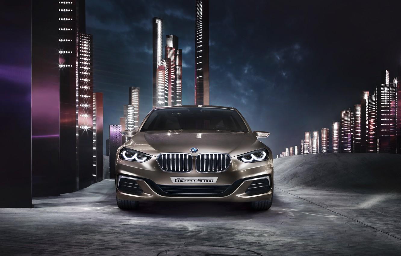 Photo wallpaper Concept, BMW, BMW, the concept, sedan, Sedan, Compact