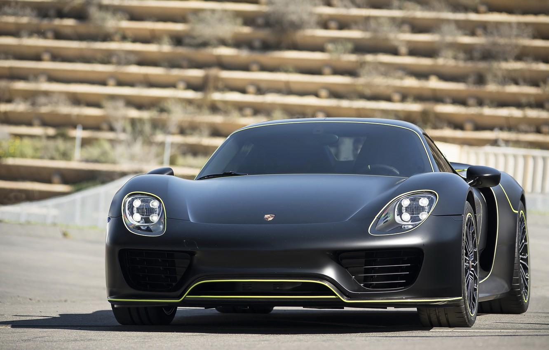 Photo wallpaper Porsche, Spyder, 918, Tron, Edition