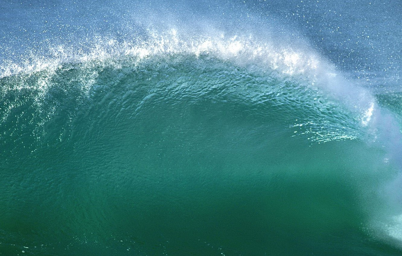 Wallpaper Sea Wave Apple Mac Os X Images For Desktop