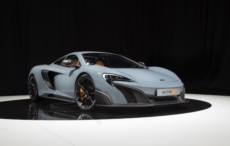 Photo wallpaper McLaren, McLaren, UK-spec, 2015, 675LT