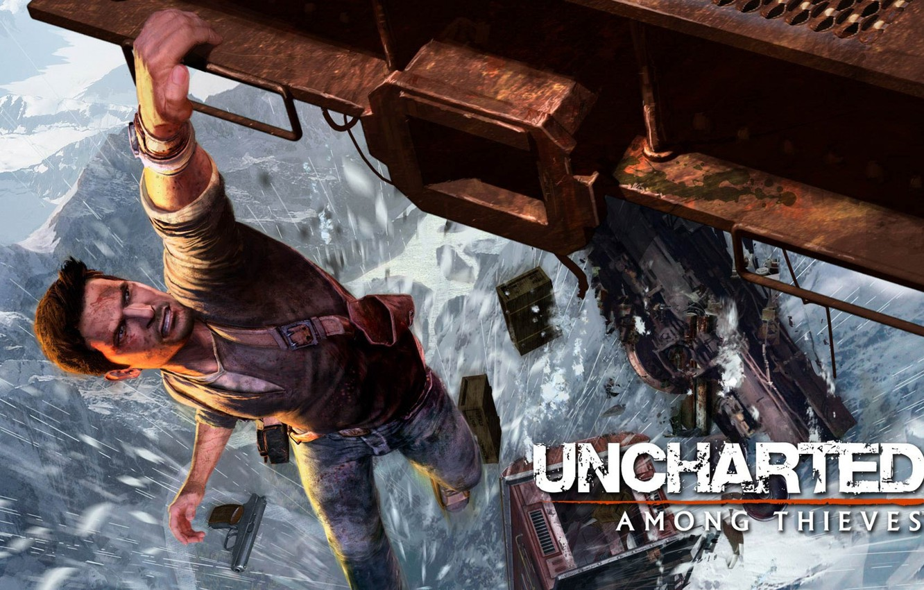 Wallpaper Game Game Nathan Drake Uncharted 2 Among Thieves