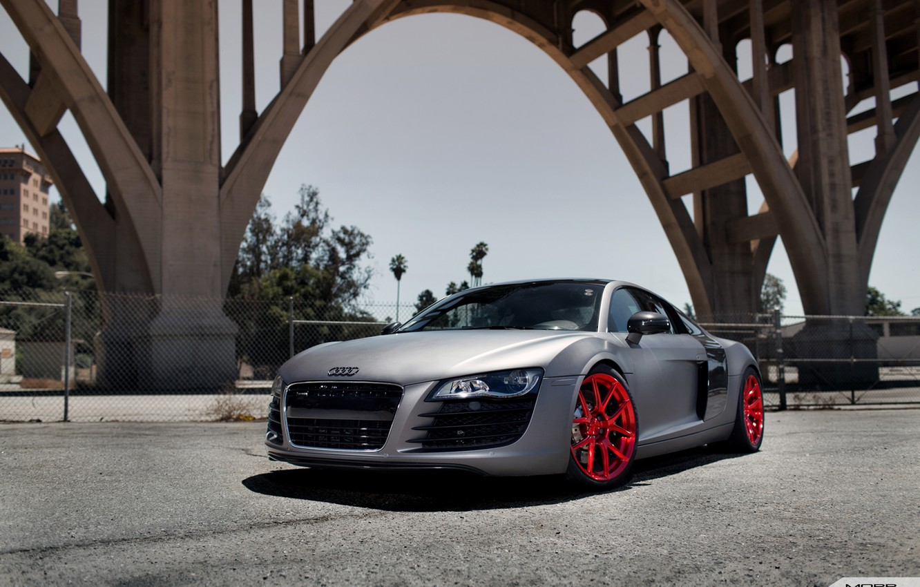 Photo wallpaper Audi, Competition, Motorsports, VS52, Mono forged, R8