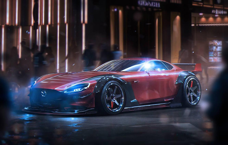 Photo wallpaper Concept, Mazda, Tuning, Future, by Khyzyl Saleem, RX-Vision