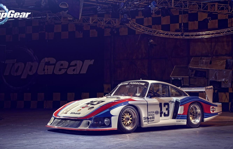 "Photo wallpaper Porsche, Top Gear, Martini Racing, 935/78 ""Moby Dick"""